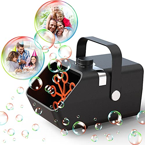 (45% OFF) Automatic Bubble Machine $17.59 – Coupon Code