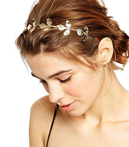 YiyiLai Serre-tête Bandeau Femme Coiffure Cheveux Bijoux Tête Adjustable Mariage Soirée Mode