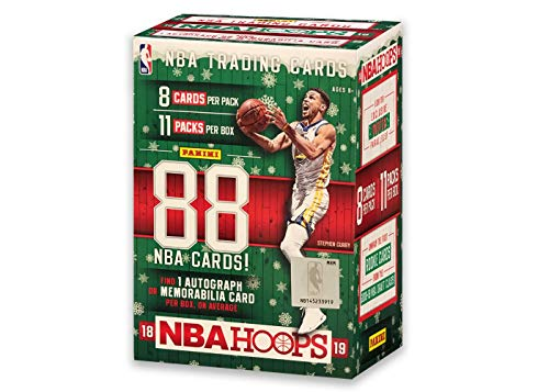 2018-19 Panini NBA Holiday Hoops Basketball Card Blaster Box with 1 Autograph or Memorabilia Card - LUKA DONCIC Possible Rookie Cards!