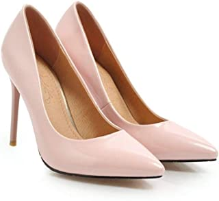Low Top Sexy High Heels For Banquet Wedding Dress Daily (Color : Pink, Size : 39)