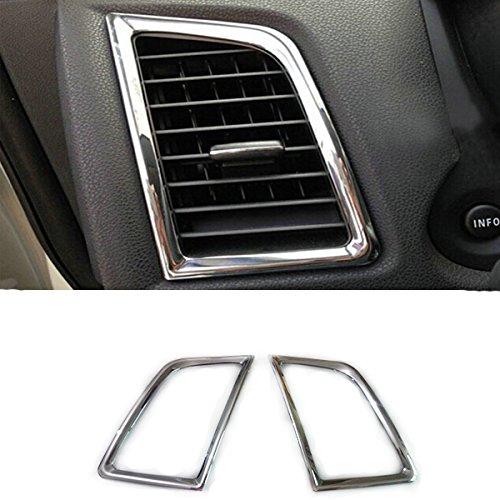 YUZHONGTIAN 2013-2016 2017 2018 2019 2020 for Mitsubishi RVR/ASX/Outlander Sport ABS Chrome Dashboard Side A/C Air Outlet Vent 2pcs