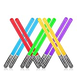 Yojoloin 10 UNIDS Inflables Star War Light Saber Sword Stick Globos para Suministros de Fiesta Favores de Fiesta Globos 5 Color (10 PCS)