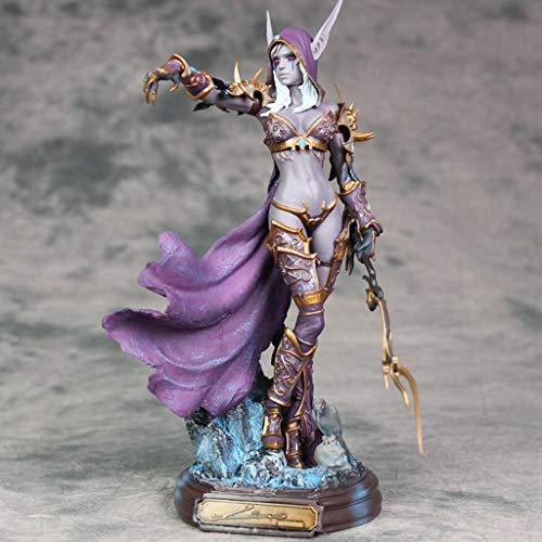 LFOZ Untote Königin Sylvanas Statue World of Warcraft Modell 23cm