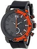 Ritmo Mundo 1201/3 Watch Quantum Sport Quartz Chronograph Aluminum Accents, Orange