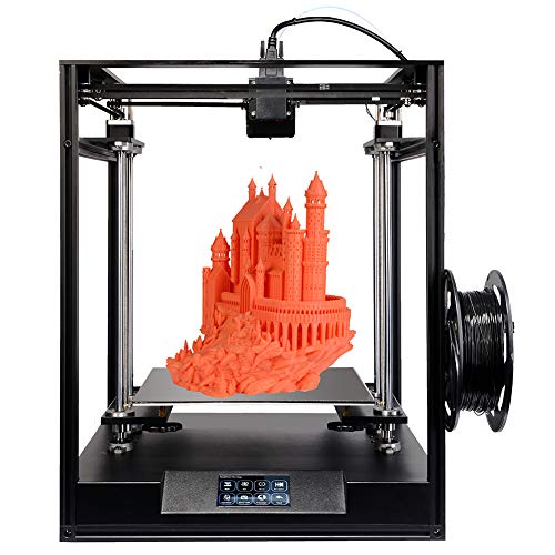 Bindpo ELF 3D Printer with Double Z-axes for PLA ABS TPU Materials, 300x300x330mm Print Size, Stable CORE XY Structure, High Precision with 0.012mm Printing Accuracy(UK)