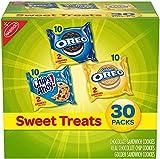 Nabisco Sweet Treats - Paquete de galletas (30 unidades, OREO, OREO Golden & CHIPS AHOY!, 30 paquetes de bocadillos, paquete especial de 30
