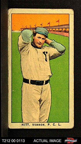 1910 T212 Obak xOLD Roy Hitt (Baseball Card) Dean's Cards 2 - GOOD