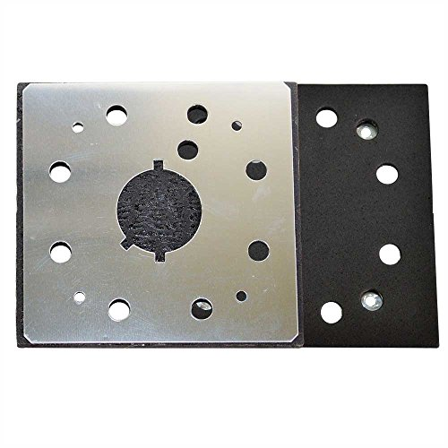 Superior Electric Pads & Abrasives SPD18 1/4 Sheet, 8 Hole Stick On Square Sanding Pad REPLACES Dewalt 151280-00, 151284-00SV
