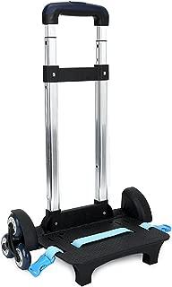 Backpack Trolley Wheeled Trolley - Hand Aluminium Alloy Folding Trolley Cart