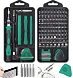 New Mini 130 in 1 Screwdriver sets Magnetic, Hevanto Professional Precision Screwdriver Tools Sets, Repair for PC/Mobile Phone/Mobile Phone Case/Computer/Camera/Eyeglasses/Watch Hand Work
