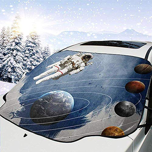 Astronauta nello spazio esterno Copertura per parabrezza per