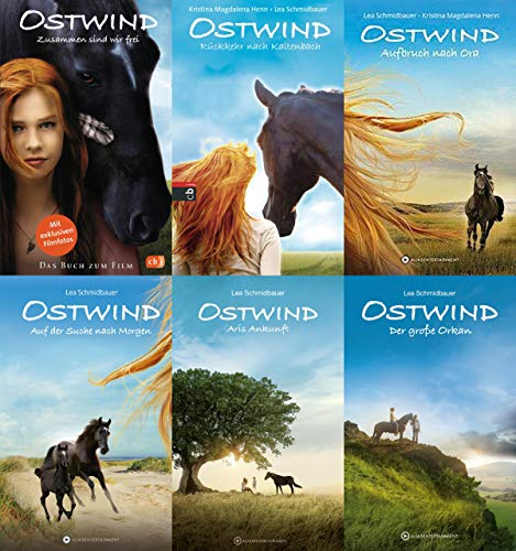 Ostwind Band 1-6 im Set + 1 exklusives Postkartenset