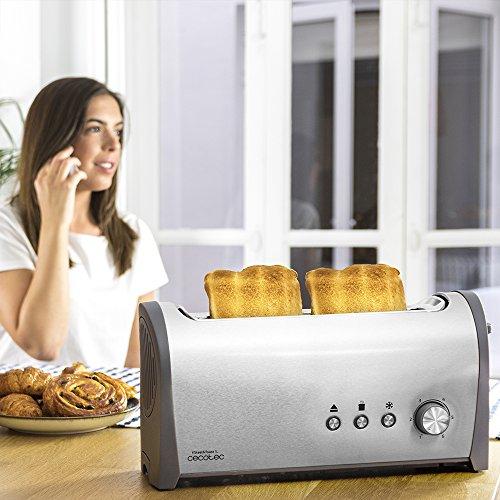 Cecotec Tostadora de pan Steel&Toast 1L