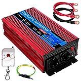 Convertisseur 24v 220v Pur Sinus 1500w /3000w ETREPOW Transformateur -2 Prise EU...