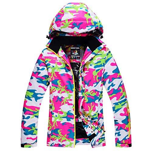Atzlshof Dames Winddichte Ski Jas voor Outdoor Snowboard Warm Jas S-XL