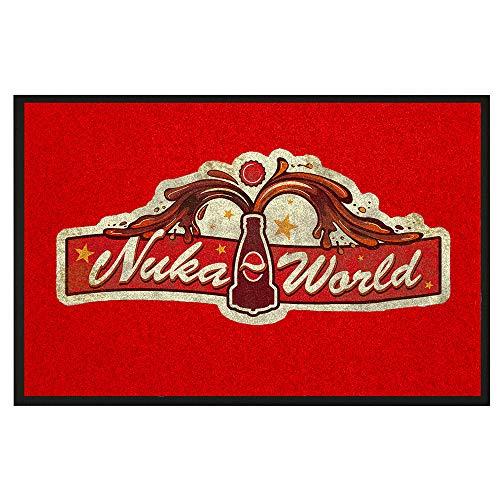 """Felpudo Fallout """"Nuka World"""""""