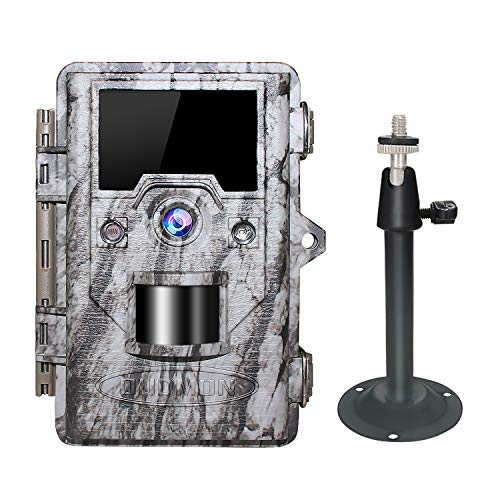 OUDMON Trail Game Camera, 16MP 1080P Hunting Cam for Wildlife with Night...