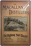 MACALLAN Whisky Retro Cartel de chapa de pared para puerta, alta calidad, 30 x 20 cm