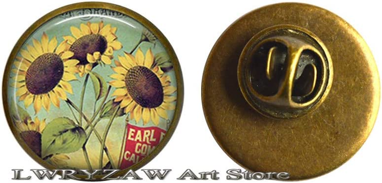 New Free Shipping Sunflower Baltimore Mall Pin Brooch Jewelry S