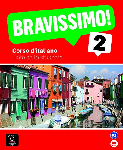 Bravissimo! 2 Libro dello studente + CD: Bravissimo! 2 Libro dello studente + CD (Texto Italiano)