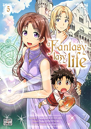 A fantasy lazy life Edition simple Tome 5