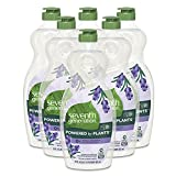 Seventh Generation, Dish Liquid Lavender, 19 Fl Ounce (Pack of 6)