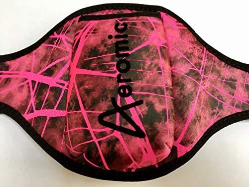 Aeromic Shattered Glass Limited Edition - Cinturón para micrófono, color rosa
