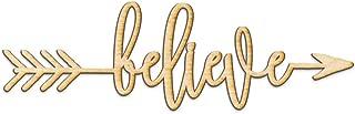 believe arrow sign