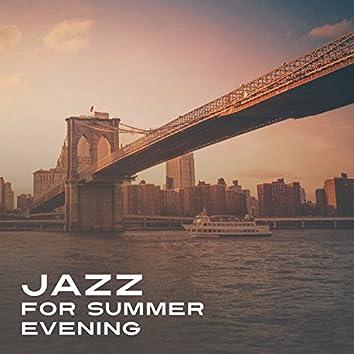 Jazz for Summer Evening – Smooth Classy Jazz, Vintage Jazz, Romantic Cafe Jazz