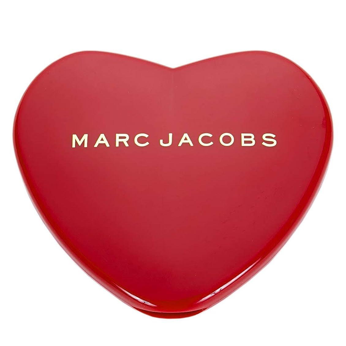 売上高注意攻撃[名入れ対応可] MARC JACOBS マークジェイコブス ハート コンパクトミラー コスメ 折りたたみ (名入れなし)