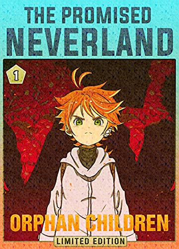 Orphan Children: Book 1 New 2021 Adventure Media Tie-In manga Comic For Kids Great The Promised Neverland (English Edition)