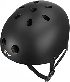 JBM アダルト& 子供 ヘルメット 自転車適用 スケートボード 安全保護 サイズ調整可能 スポーツ サイクリング スケートボード スクーター ローラー スケート インライン スケーティング ローラー ブ