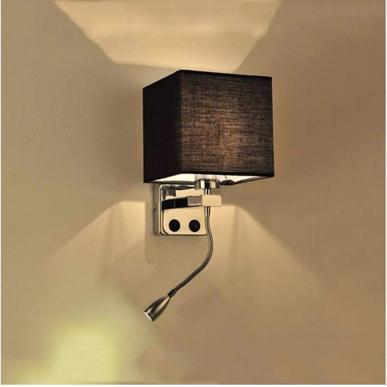 Tela Moderna Led Luces De Parojo Lámpara De Tela Escalera Hotel Pasillo Sala De Estar Dormitorio Pasillo Cama Luz Iluminación Aplique De Parojo