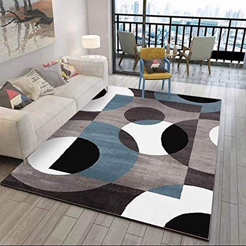 XTUK Zuhause Dekoration Teppich Teppichböden Blumenmuster im Retro-Stil und mittelgroße, traditionelle Teppiche Handgeschnitzte, geometrische Qualität Bunter Teppich in verschiedenen Teppichgrößen