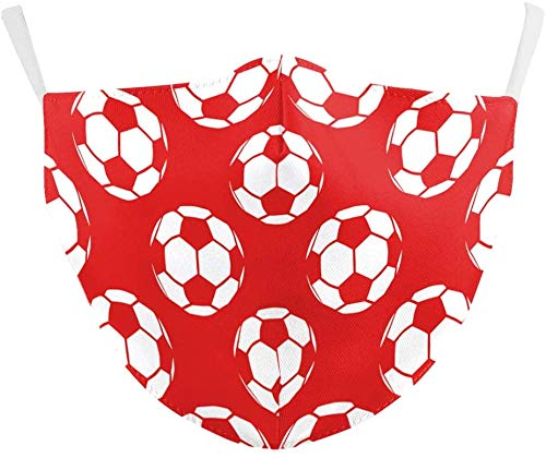 KINGAM - Mascarilla facial reutilizable transpirable diseños deportivos – Prácticas de distanciamiento...