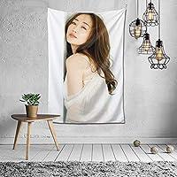 神崎恵 タペストリー 壁掛け ポスター 背景布 壁飾り 家 リビングルーム ベッドルーム 部屋 おしゃれ 100*150cm