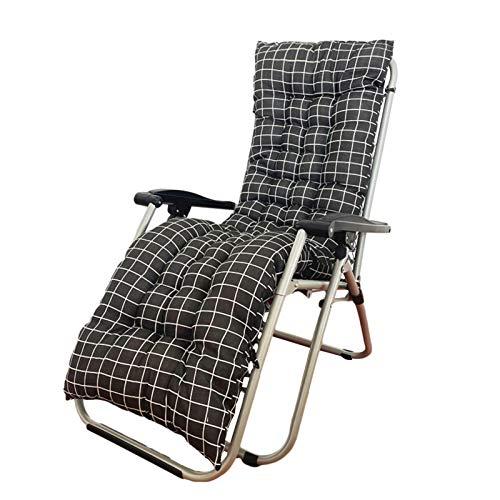Cojín balancín exterior, cojín de jardín reclinable, cojín grueso para silla de jardín, cojín para silla de jardín al aire libre, balcón