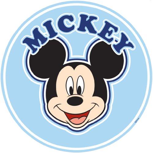 Decofun Sticker géant Mickey tête de lit 70x70 cm