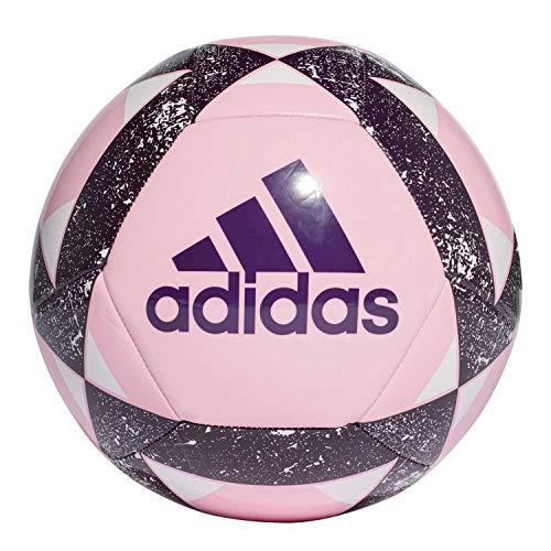 Adidas Starlancer V Soccer Ball, Hombre, True Pink/Legend Purple/White, 4