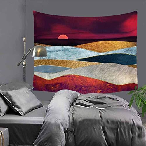 mmzki Nordeuropäischen und amerikanischen Stil hängen Tuch Hauptdekoration Wandteppich 13 150x200cm