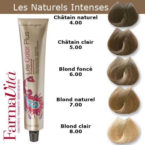 Coloration cheveux FarmaVita - Tons Naturels Intenses Châtain naturel intense 4.00