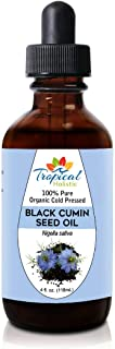 Premium Organic Black Seed Oil 4 oz - 100% Extra Virgin Pure Cold Pressed - Nigella Sativa Black Cumin Seeds - Immune System Support, Digestion, Joints, Hair Growth