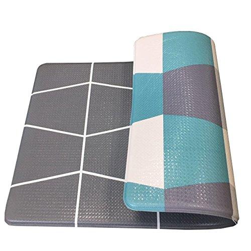 Art3d Premium Reversible Cushion Kitchen Mat Anti Fatigue Kitchen Comfort Mat Standing Floor Mat, 18