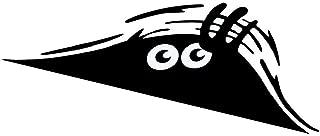 Wannabuy 3 X Cute Peeking Monster Scary Eyes Car Decal / Sticker for Laptop Ipad Window Wall Car Truck Motorcycle (Theft, Black)