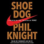 Shoe Dog     A Memoir by the Creator of Nike              By:                                                                                                                                 Phil Knight                               Narrated by:                                                                                                                                 Norbert Leo Butz,                                                                                        Phil Knight - introduction                      Length: 13 hrs and 21 mins     4,043 ratings     Overall 4.8