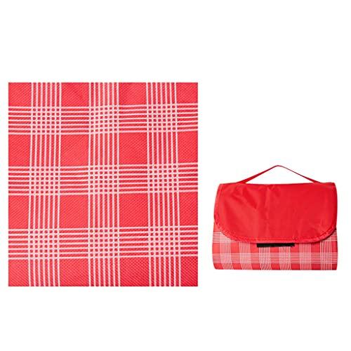 Tapis de tente de pique-nique de pique-nique de 80 * 59 pouces de pique-nique Tapis de pique-nique en tissu de pique-nique, tapis d
