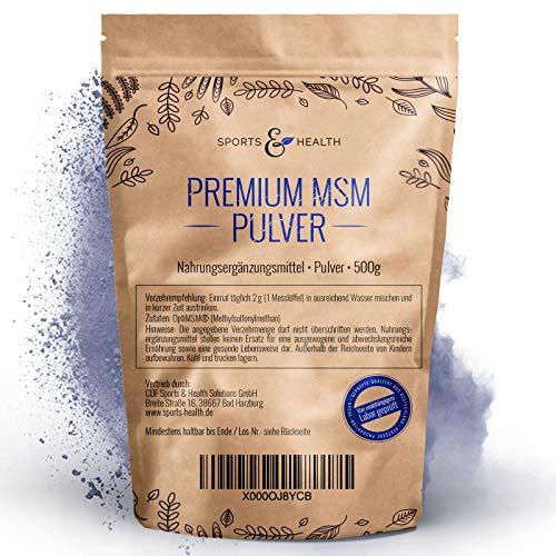 MSM Pulver 0,5 kg Beutel - OptiMSM