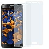 mumbi Schutzfolie kompatibel mit Samsung Galaxy S6 Edge Folie klar, Bildschirmschutzfolie (2X)