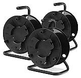 Set de 3 tambores para cables Pronomic KT-100 (sin cables)