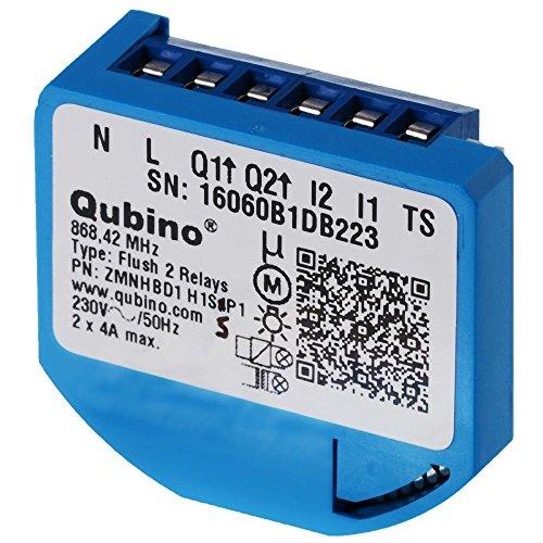 Qubino ZMNHBD1 trasmettitore di potenza Blu 2